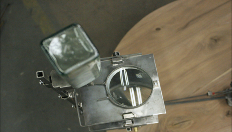 Detail of Ink Deposit and Optical system